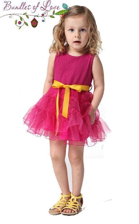Tutu Party Dress Hot Pink - Bundles of Love