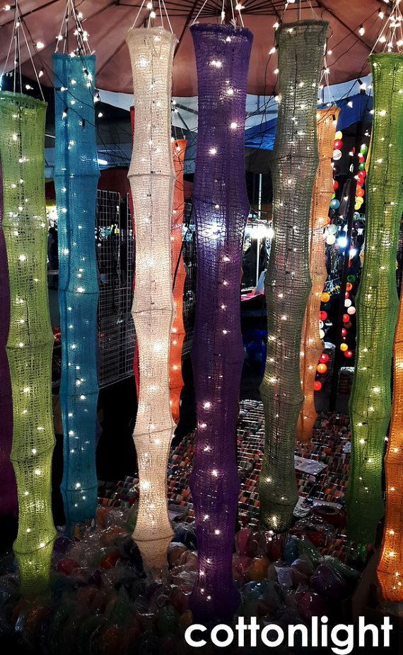 handmade hanging lantern 5 feet long party rustic by cottonlight, $9.98