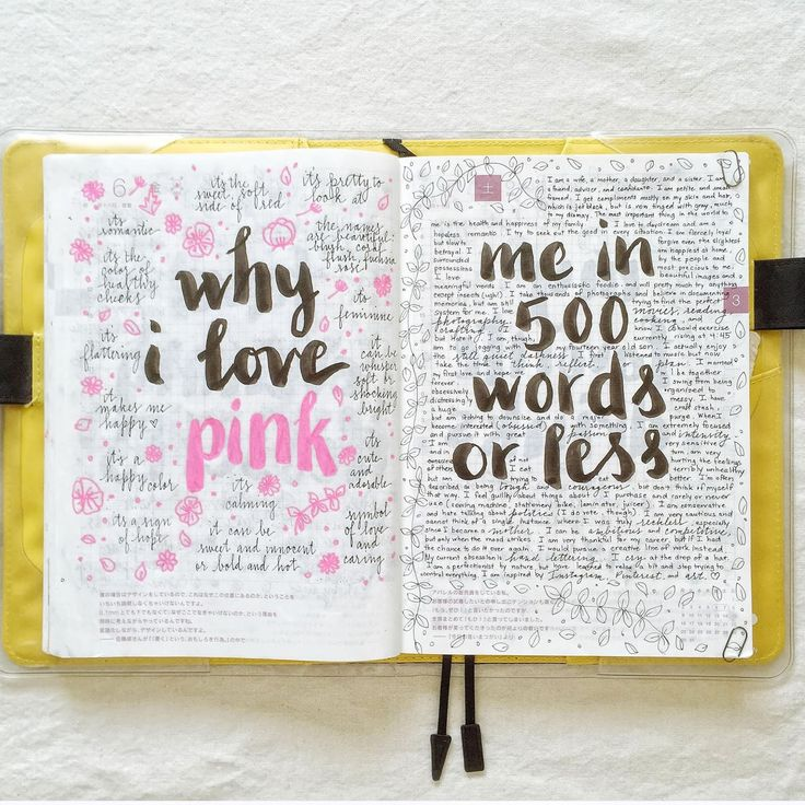 The Journal Diaries is a blog segment where we get a sneak peek into the journals, notebooks, organizers, and diaries from people all over t...