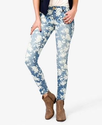 Get 20  Printed skinny jeans ideas on Pinterest without signing up ...