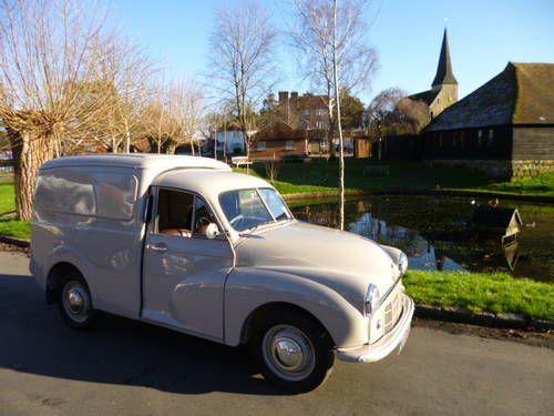 1954 Morris Minor Van