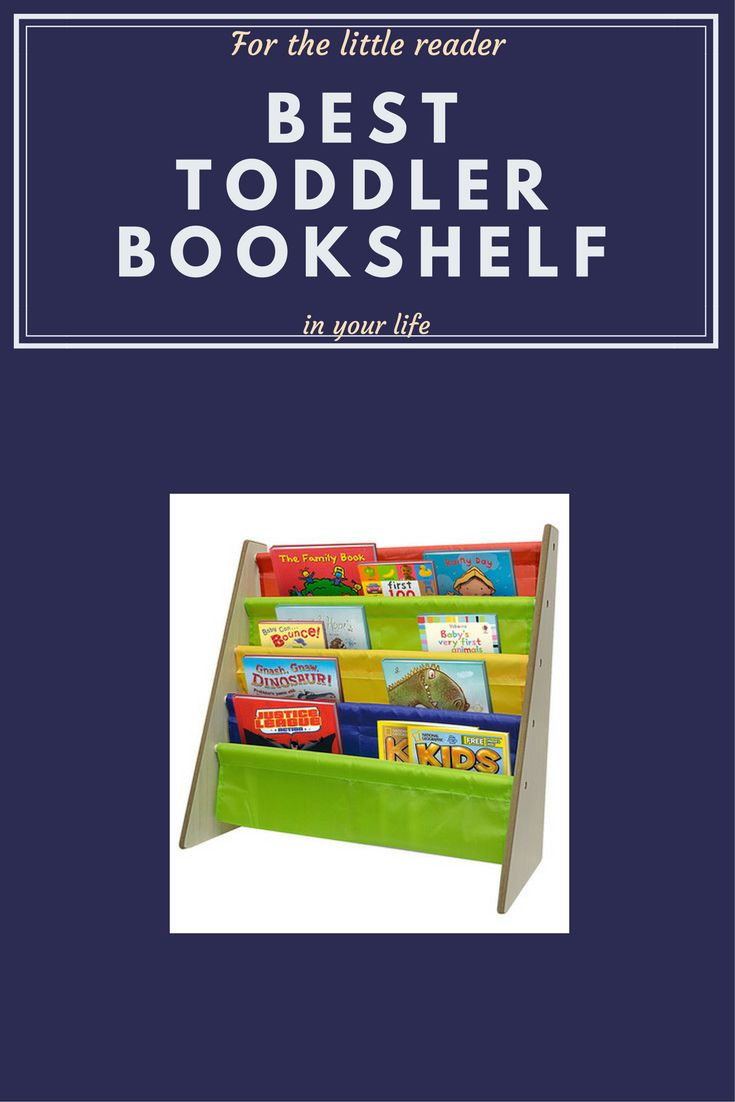 This innovatively designed toddler book rack allows books to be displayed and easily accessible to your children. It is the perfect size for the little readers that want to pick out their own books during reading hour.  #afflink