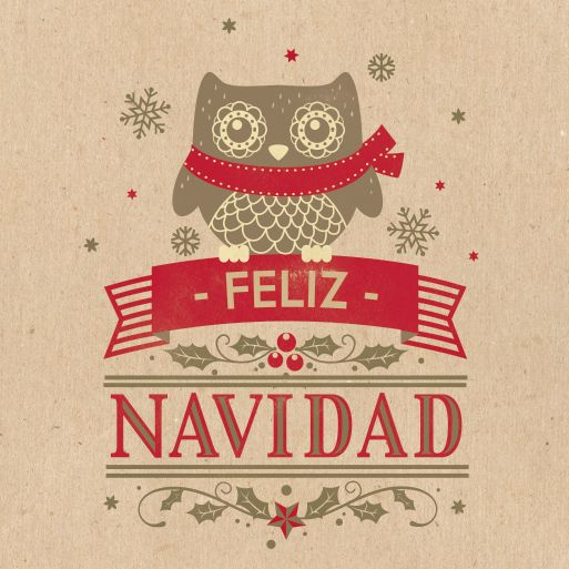 Christmas Cards by Pako garcia, via Behance