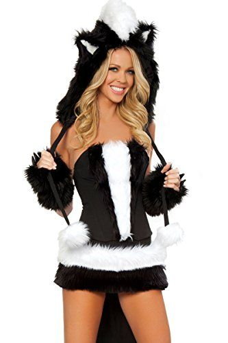 No bunny gets hurt with these fake fur costumes! Sexy Animal Halloween Costume Ideas for Women: Ladymermaid.com