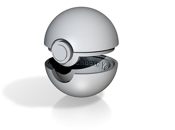 Pokeball Engagement Ring Box