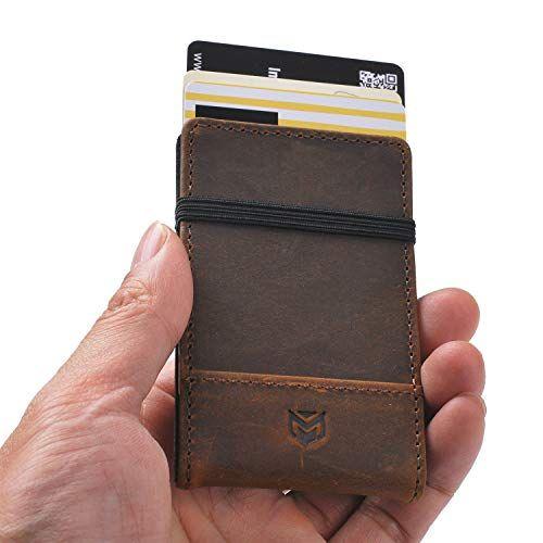 Mens Slim Front Pocket Minimalist Wallet – RFID Credit Card Holders NEW DESIGN