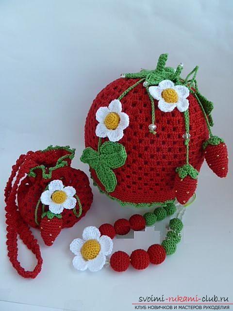 Как связать летние красивые шапочки и панамки крючком для девочек и мальчиков, схемы, описание и фото. Фото №2