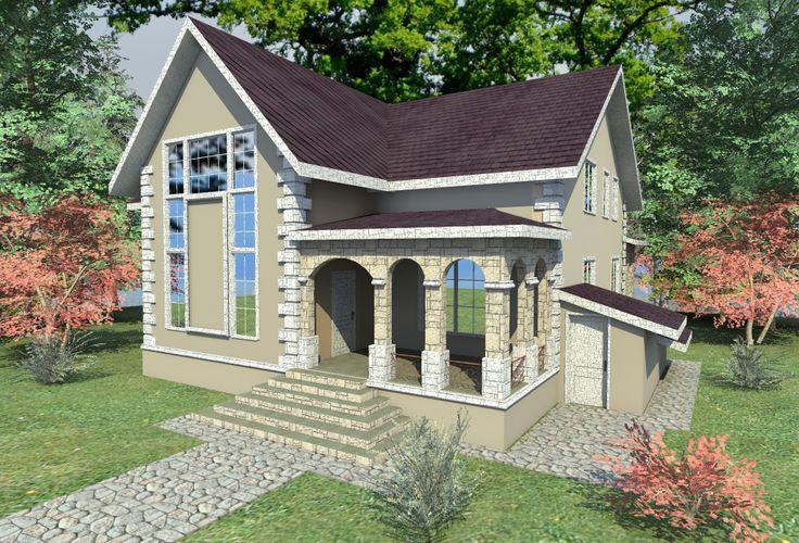 разработка концепций и проектов по оформлению. декору . реконструкции и утеплению фасадов загородных домов в стиле Шале и Фахверк