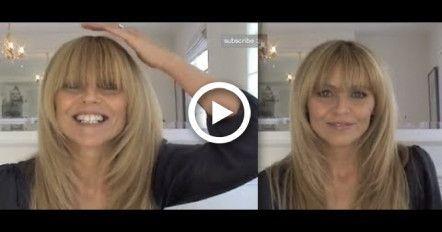 Taylor Swift Fringe / How To Trim Your Bangs/Fringe