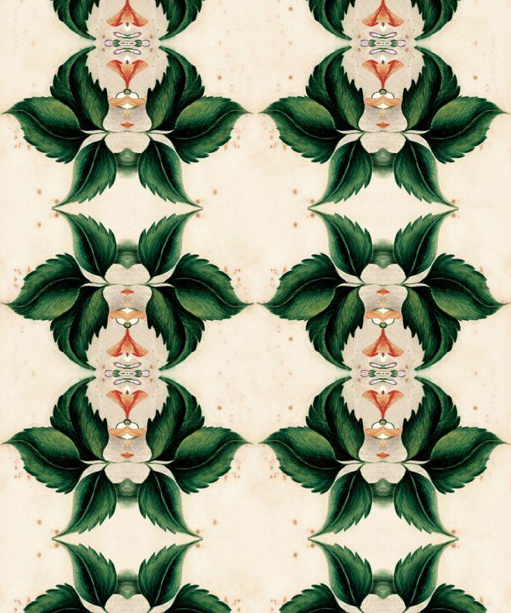 Euphemia 2 Wallpaper, Stunningly Eclectic Wallpaper