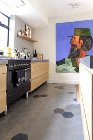 Cement tiles - Project Sebas Berger - kitchen - Diningroom