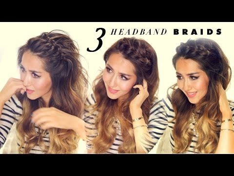 These 3 Easy Headband Braids Will Upgrade Your Style In Just Minutes