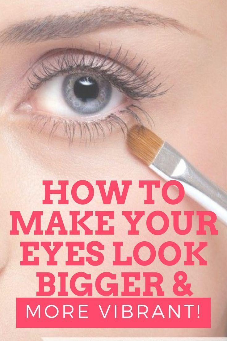 Makeup tricks to make eyes look bigger you play