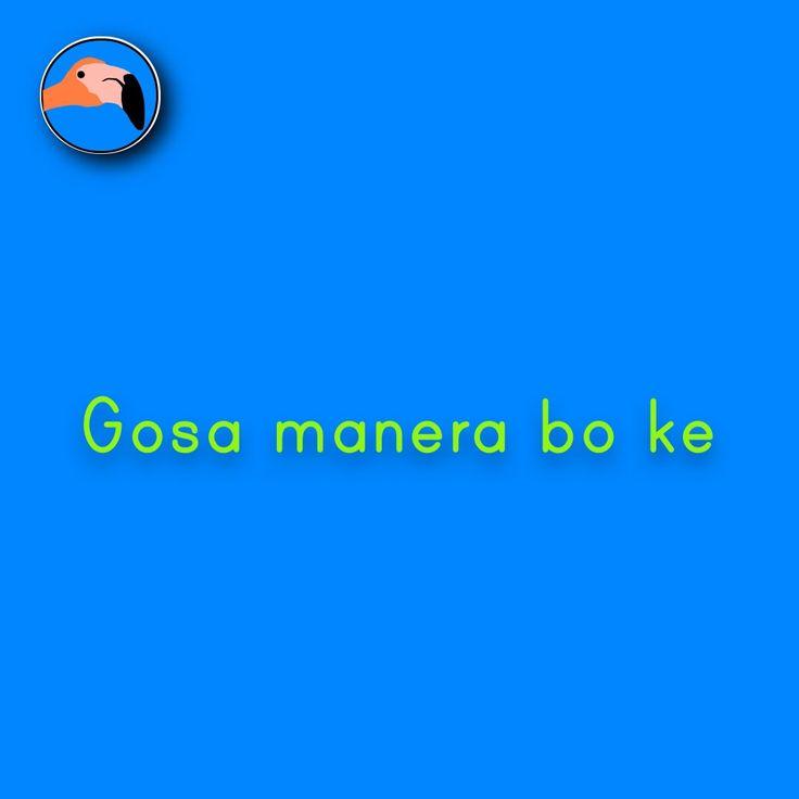 Enjoy like you want | Gosa manera bo ke! For translation services contact us at info@henkyspapiamento.com  #papiamentu #papiaments #papiamento #creole #language #curacao #bonaire #aruba #caribbean #enjoy #like #want #genieten #zoals #willen #disfrutar #gozar #como #querer #desfrutar #quer More learning materials available at henkyspapiamento.com