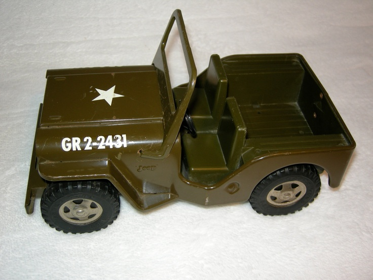 Reserved Vintage Toy Truck Tonka Jeep Vintage No 251 Military Jeep