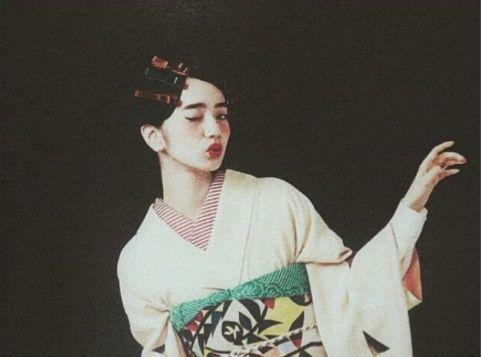 by komatsu nana for キモノ姫 magazine N°12