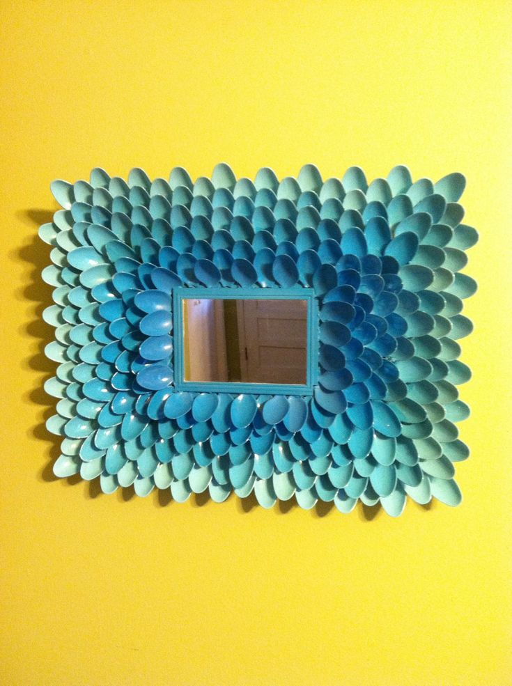 How to Make a Spoon Art Mirror - that's different and a plethora of possibilities!