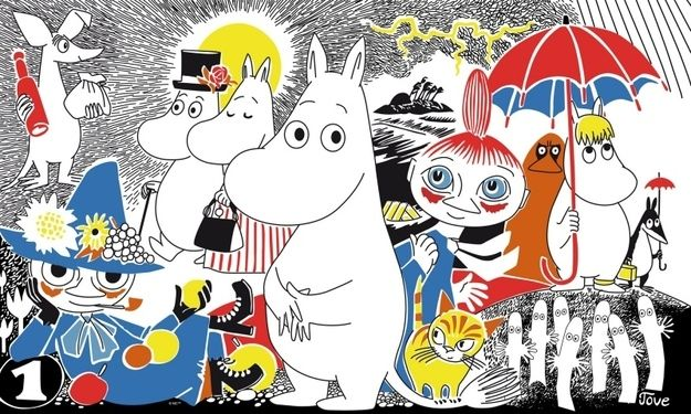 "50 Lessons That Moomins Can Teach You About Life ""I only want to live in peace and plant potatoes and dream!"" The magical Moominvalley of Tove Jansson's imagination contains all you need to know for life."
