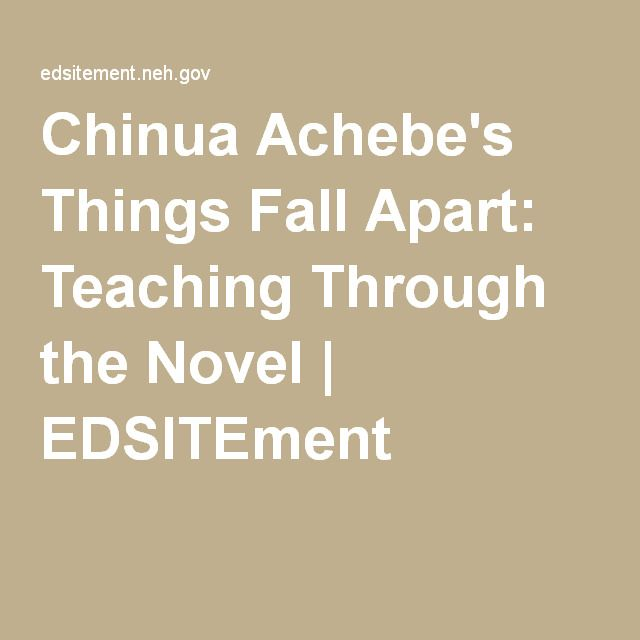 colonization in things fall apart by chinua achebe Key-words: irony, tragedy, colonialism, native, history 1 introduction this paper  focuses on two staple novels by african writer chinua achebe – things fall.