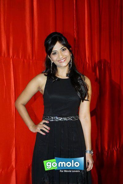 Aditi Sharma at the First look Launch Ekkees Toppon Ki Salaami