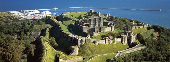 Dover Castle - you can't go on a school trip to somewhere more or less every year and still find it this fascinating unless it is