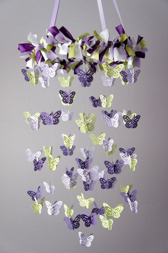 Once I get my butterfly punch i'm hoping to make something like this for Addi!
