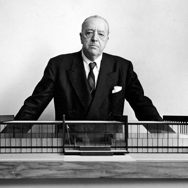 54 best images about ludwig mies van der rohe on pinterest. Black Bedroom Furniture Sets. Home Design Ideas