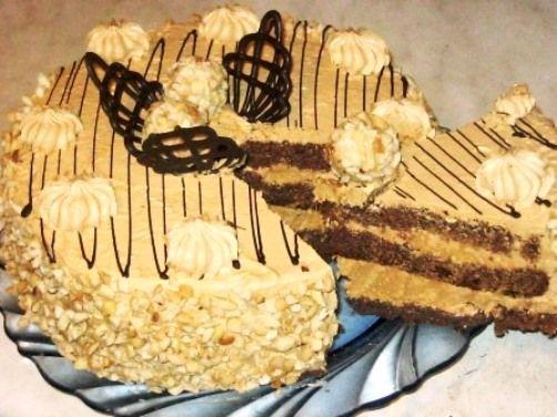 Торт «Премьера» со сгущенкой