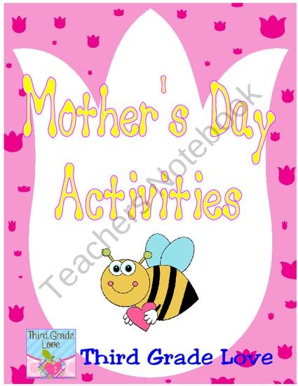 Mother S Day Worksheets 3rd Grade : Best images about mothers fathers day on pinterest