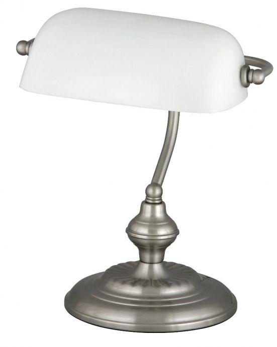 lampa de birou BANK 4037 abajur orientabil alb, marca RabaLux
