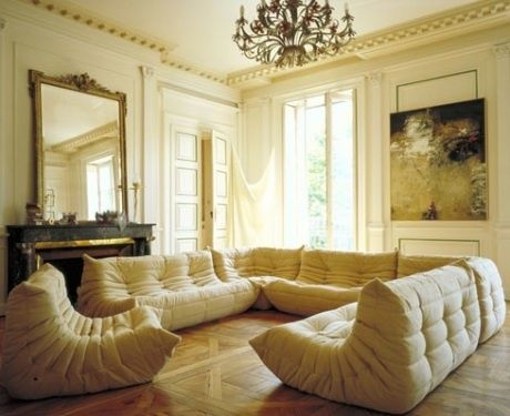 One Of The Best Designer Sofas Of The Michel Ducaroyu0027s Sectional Sofas TOGO  For Ligne Roset In Easy To Move Around, Super Comfy, Awesome Style; ...