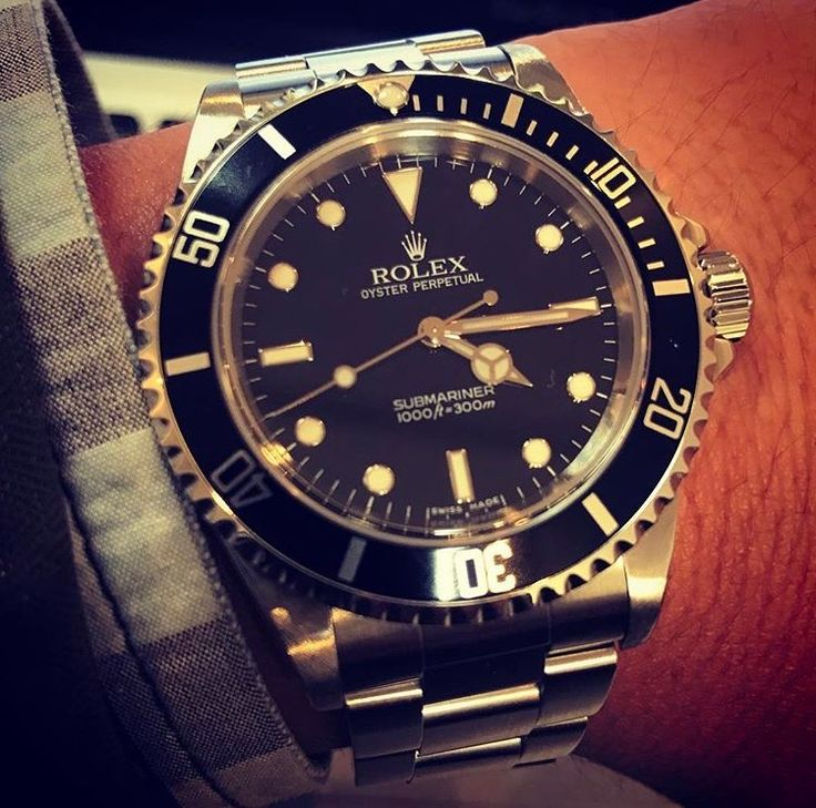 Rolex Submariner Two Lines No Date