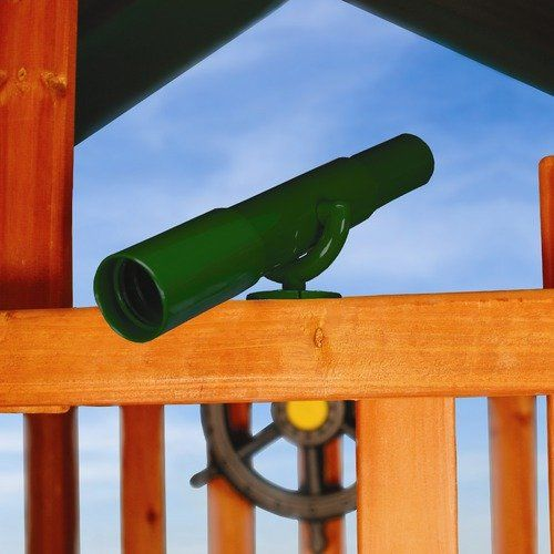 Gorilla Playsets Telescope Swing Set Accessory in Green