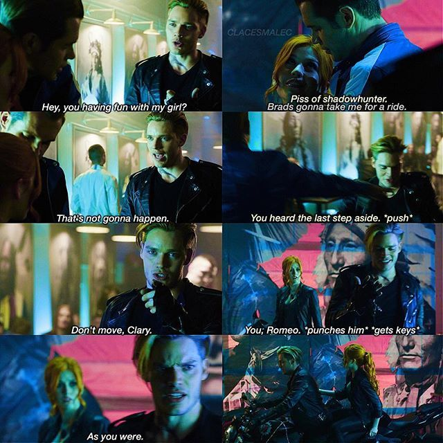 Season 1 Episode 3: Clary and Jace