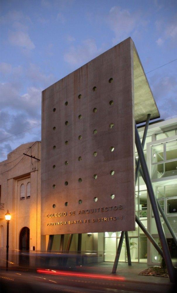 Headquarters for Santa Fe Architects Association / Gabriel Biagioni, José Giolongo, Javier Mendiondo, Sergio Pecorari, Luis Pessoni, Ramiro Piva