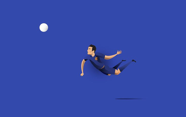 Fluid football on Behance