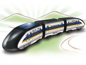 Güneş Enerjili Tren Solar Bullet Train