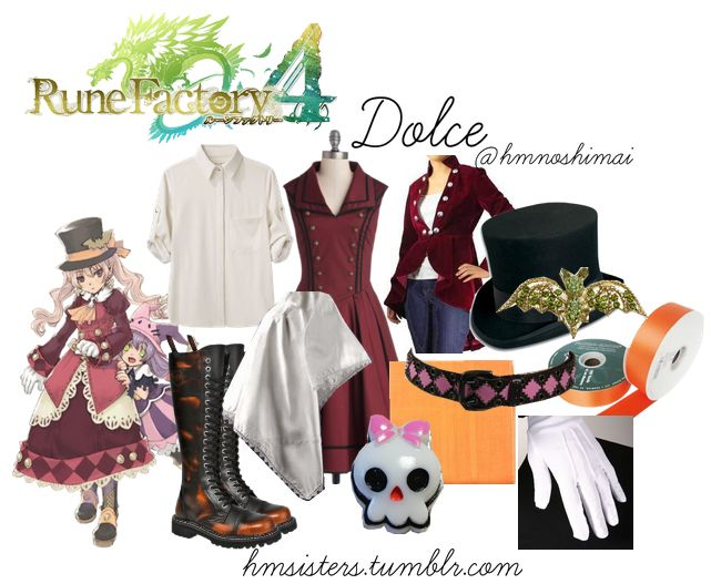 RF4 dolce on polyvore by hmsisters/hmnoshimai