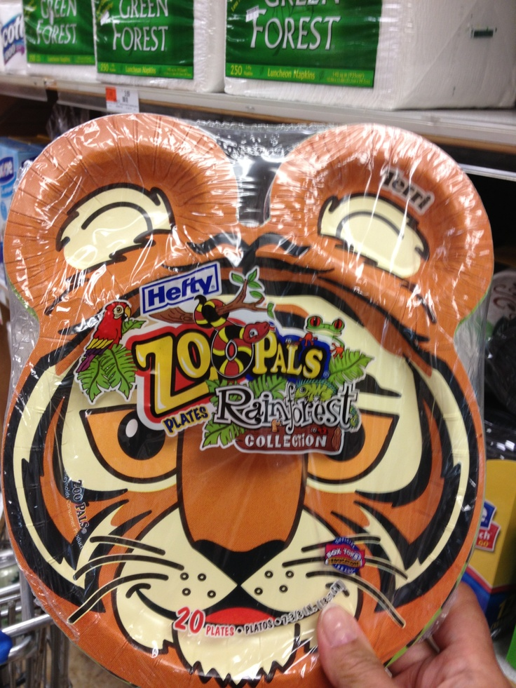 Hefty Zoo Pals Paper Plates Daniel Tiger S Neighborhood
