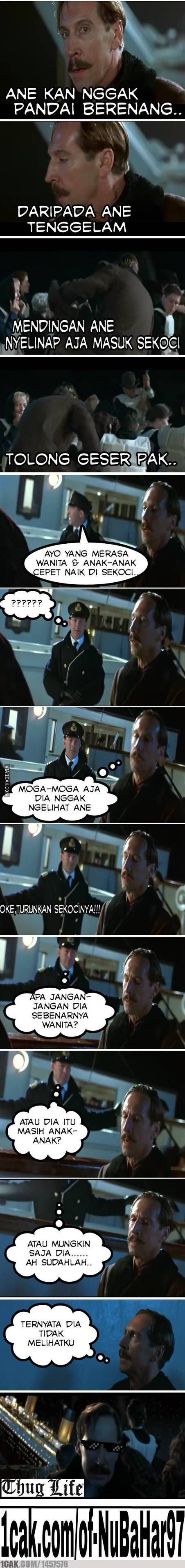 Thug Life Meme Indonesia Lucu V V Pinterest Thug Life And