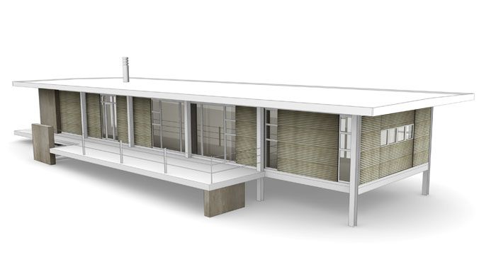 deepEarth 3D architecture model render A 3D vector: by disko ferdi