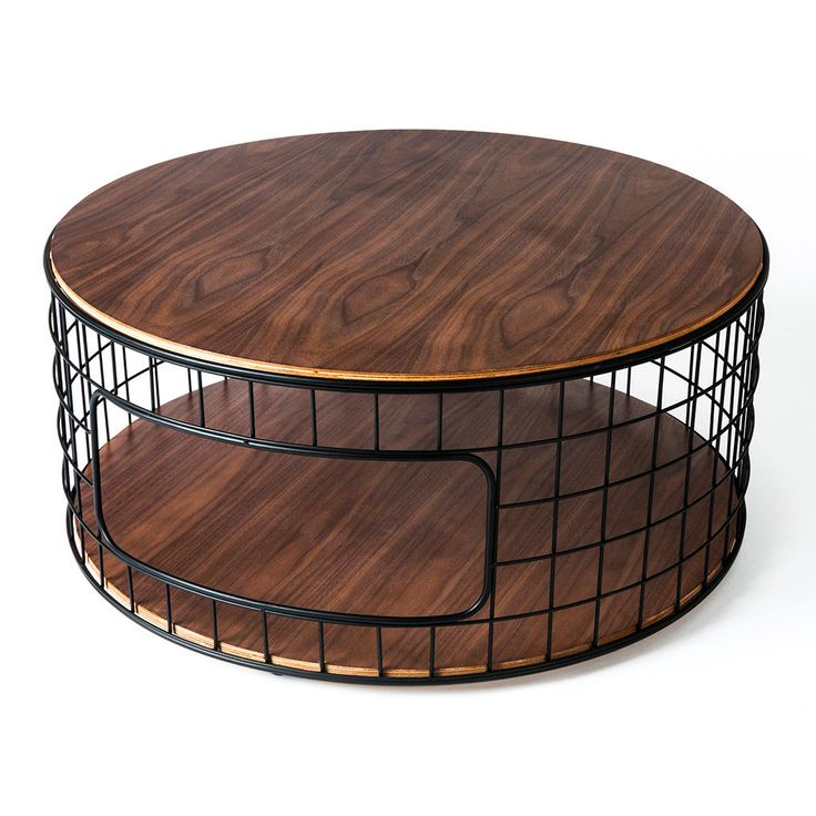 The Wireframe Coffee Table Is A Functional Accent Piece Which Evokes The  Wireframe Models Used By Designers And Animators. It Features A  Walnut Finished, ...