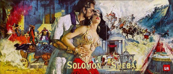 Šalamún a kráľovná zo Sáby.