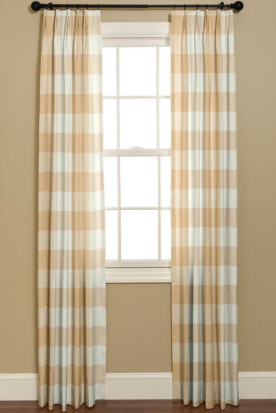 side panel drapes buffalo check | ... BUFFALO CHECK Biscuit. 2 50x84. Beige And White Check Curtains