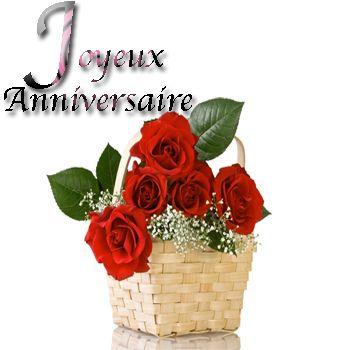 Carte anniversaire fleurs gratuite à imprimer | Texte, Carte, Invitation , Sms pour voeux d'Anniversaire