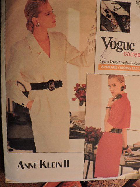 SeeSallySew.com - Anne Klein II Career Dress Designer Fashion Vogue 2057 Pattern Sz.  6 - 10 , $10.00 (http://stores.seesallysew.com/anne-klein-ii-career-dress-designer-fashion-vogue-2057-pattern-sz-6-10/)