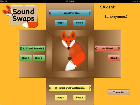 SoundSwaps ($9.99) The goal of SoundSwaps is to assist students to improve decoding and encoding skills through improved auditory conceptualization. (It's great practice for all students, but was originally designed for students with dyslexia and auditory processing disorders.) Students will practice seeing and hearing words and learning where and when sounds are deleted, added, or moved to make new words.