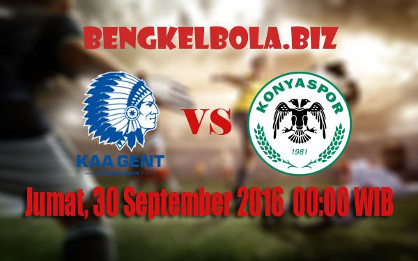 Prediksi KAA Gent vs Konyaspor 30 September 2016