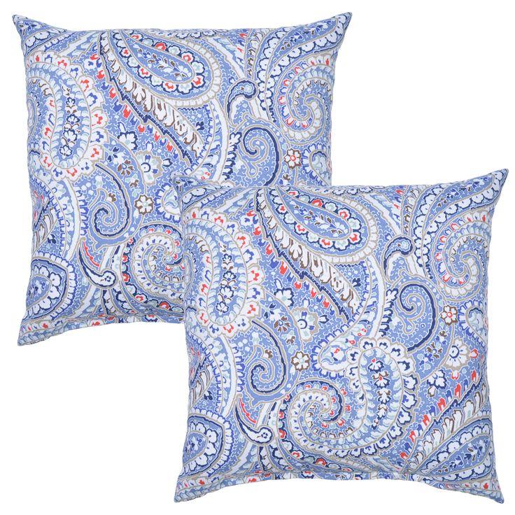 Delroy Outdoor Throw Pillow