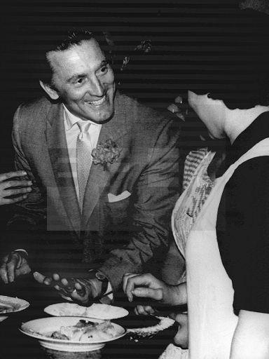 Kirk Douglas, Festival Internacional de Cine de San Sebastián, 1958